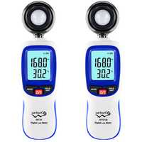 Wintact WT81 WT81B bluetooth Digital Lux Meter Illuminometer Mini Light Meter 0-200000 Lux Temperature Tester Environmental Testing Equipment