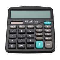 GTTTZEN M28 Solar Calculator 12 Dual Power Computer Black Calculator Gift Office Home Portable