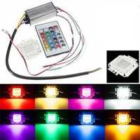 30W RGB Chip Light Bulb Waterproof LED Driver Power Supply with Remote Controller