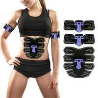 Abdomen Arm Muscle EMS Training Gear Black Technology Electrical Body Shape Trainer