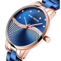 MINI FOCUS MF0263L Simple Deign Crystal Women Quartz Watch