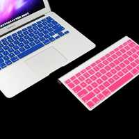 Silicon US Keyboard Skin Protective Film For Macbook Pro 13.3 Inch