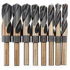 Acheter au meilleur prix 8pcs 1/2 Inch Round Shank HSS Twist Drill Bit Set