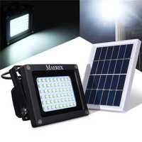 Solar Powered 54 LED Sensor Flood Light Waterproof Outdoor Security Lamp