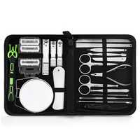 20 Piece Stainless Steel Nail Clipper Set