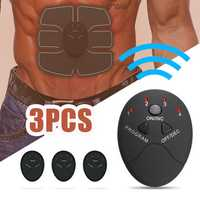 Rechargeable Abs Stimulator Fitness Gear Muscle Trainer