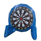 Meilleurs prix 3m High Popular Game Giant Inflatable Soccer Foot Dart Board With Air Blower