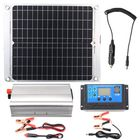 Meilleurs prix Efficient Solar Powered System 40W Dual USB Ports Solar Panel & 2000W Power Inverter & 10A Controller