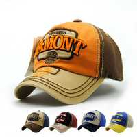 Kids Boys Girls Cotton Letter Embroidery Baseball Cap Outdoor Sports Sunshade Hats