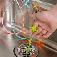 Honana HN-Q8 4 Colors Drain Cleaner Sink Drain Tub Hair Remover Household Cleaning Tools