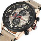 Meilleurs prix CURREN 8288 Chronograph Calendar Quartz Wrist Watch