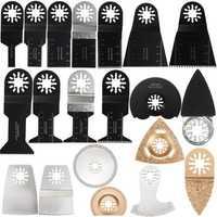 20pcs Oscillating Multitool Saw Blades Set Multitool Blades Kit For Fein Makita Bosch