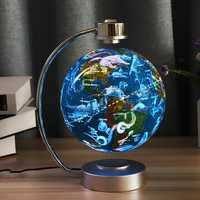 8 Inches Magnetic Levitation Floating Globe Constellation Light Desk Lamp Decor Toy