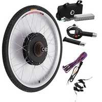 Bikight 48V 500W 26Inch Electric Bicycle Modification Kits Driving Motor Rear Wheel Controller Bike Kits