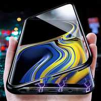 Bakeey Magnetic Adsorption Aluminum Tempered Glass Protective Case for Samsung Galaxy Note 9