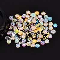 Dancingnail Mixing Pearl Shell Cololful Nail Decoration Bead