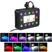 30W 12+2 LED Strobe Par Lamp RGBW Beam LED DMX Stage Light for DJ Party Club Show Holiday AC90-240V
