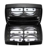 Black Soft Magnetic Eyelashes Natural Length Dual Magnets