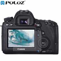 PULUZ Camera 2.5D Curved Edge 9H Surface Hardness Tempered Glass Screen Protector for Canon 6D