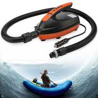 12V LED Display Outdoor Sports SUP Vehicle Inflatable Pump Paddle Board Dinghy Kayaking Air Pump with 6pcs Air Tap