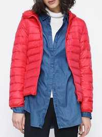 12 Color Women Pure Color Zipper Long Sleeve Hooded Short Down Coats