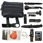 Bon prix IPRee® 11 In 1 Outdoor EDC SOS Survival Bag Camping Emergency Multifunctional Tools Kit
