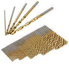 Acheter au meilleur prix Drillpro 50PCS 1/1.5/2/2.5/3mm HSS Titanium Coated Twist Drill Bits High Speed Steel Drill Bit Set