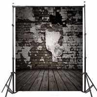5x7FT Wooden Brick Theme Photography Background Vinyl Fabric Studio Backdrop 1.5x2.1m