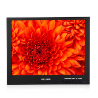 Kelima 10.1 Inch Square Flat Car Monitor HDMI Monitor VGA Monitor BNC Interface Monitor European