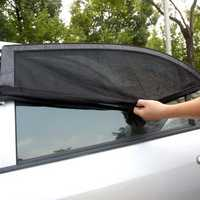 43x21 Inch Car Side Rear Window Shade Sunshade Cover Visor Screen Mesh