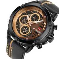 NAVIFORCE 9110 Men Watches Luxury Fashion 24 Hours Display L