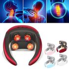 Prix de gros Multifunctional 4D Massager With Remote Control Electric Wireless TENS Pulse Hot Compress Neck Protector