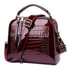 Meilleurs prix Women Patent Leather Seashell Bag Portable Diagonal Bag