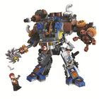 Offres Flash 371 Pcs City Age Of Steam Guards The Nation Building Blocks Mechanical Robots Warrior Figures Diy Assembly Blocks Toys for Kids