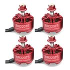 Meilleur prix 4X Racerstar 2207 BR2207S Fire Edition 2500KV 3-6S Brushless Motor For RC Drone FPV Racing Frame Kit