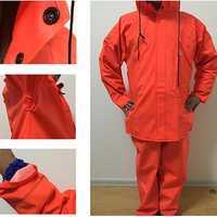 Fishing Rain Coat Wading Rain Coat Clothing Breathable Chest Waders Waterproof Plastic Cement Materi