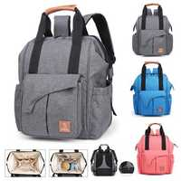Men Women Diaper Bag Large Capacity Travel Backpack