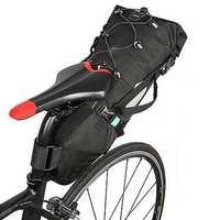 ROSWHEEL 10L Bike Tail Bag Cycling Waterproof Phone Frame Bag Bicycle Pannier Tail Saddle Seat Bag