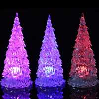 Colorful LED Mini Crystal Light Christmas Tree Christmas Decoration