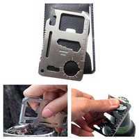 IPRee® Tactical Mini EDC Card Life-saving Multifunctional Tools Kit Outdoor Survival