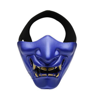 WoSporT Tactical Mask for Halloween Party Cosplay Concert Colorful Devil Series