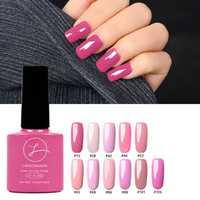 11 Colors Princess Pink Nail Gel Polish Soak-off UV Gel