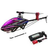 KDS AGILE A7 6CH 3D Flybarless 700 Class RC Helicopter Kit With EBAR V2 Gyro'