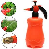2000ml Adjustable Pressure Watering Can Garden Plant Flower Brass Nozzle Spray Bottle