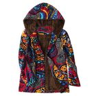 Discount pas cher S-5XL Abstract Printed Coats