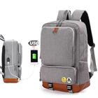 Meilleurs prix Backpack USB Charging Backpacks Men Woman Shoulder Bag Laptop Bag Casual Travel Backpack College Bag For 15-inch Laptop