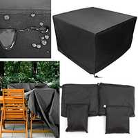 Outdoor Patio Garden Furniture Cover 210D Oxford Rain Dust Snow Waterproof Table Shelter