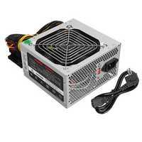 500W PSU PFC ATX 24pin Sata Computer Gaming Power Supply For Intel AMD PC CAN