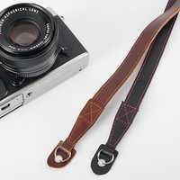 Leather Camera Shoulder Neck Strap for Leica SLR DSLR Mirrorless
