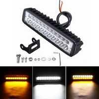 6inch 80W 20 LED 12V Work Light Flood Beam Driving Fog Headlights Lamp Bar Motorcycle Car SUV Off-road